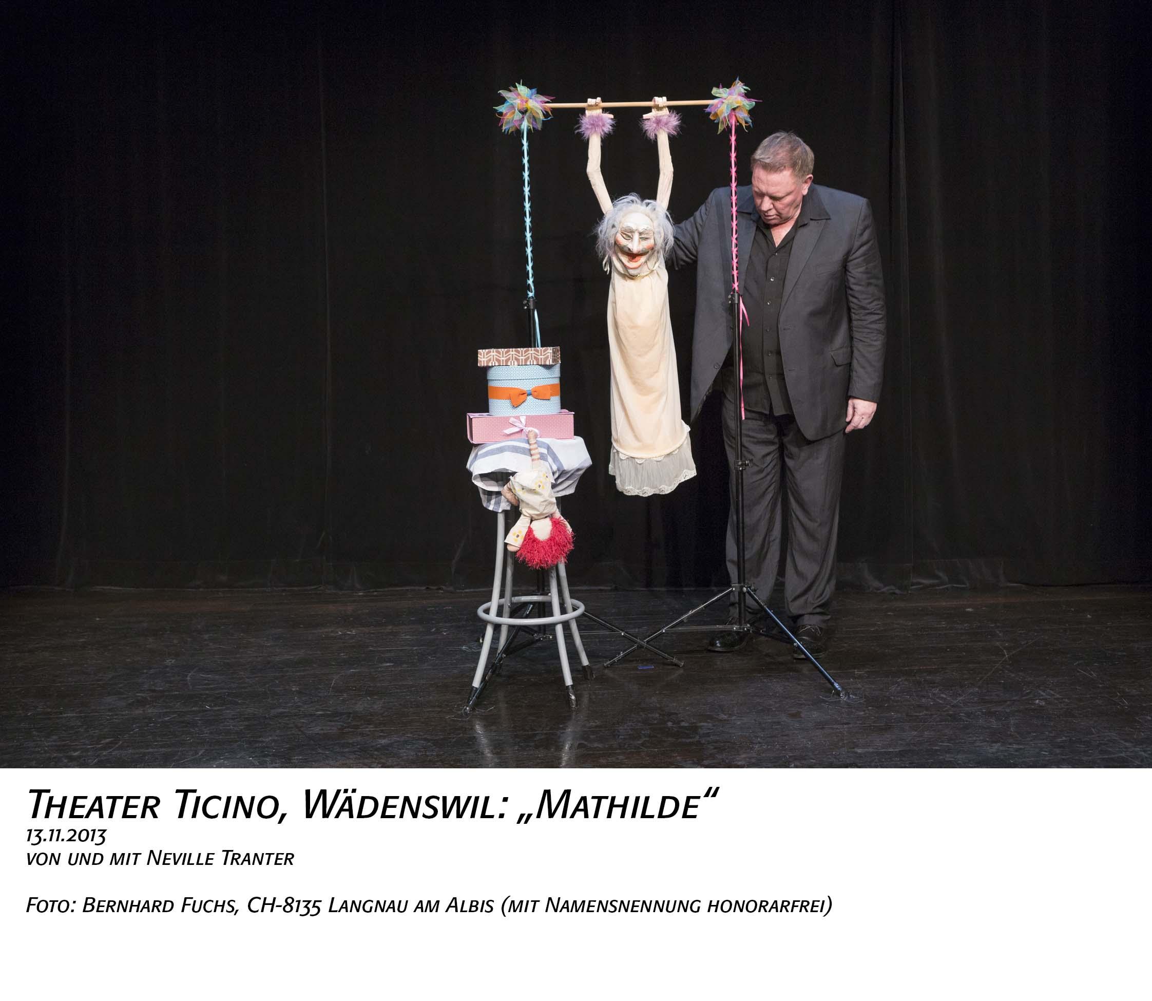 Bernhard Fuchs Theaterfotos | Ticino: Mathilde